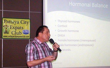 January 5 speech to Pattaya City Expat Club about anti-aging medicine – Part 1 & 2-532